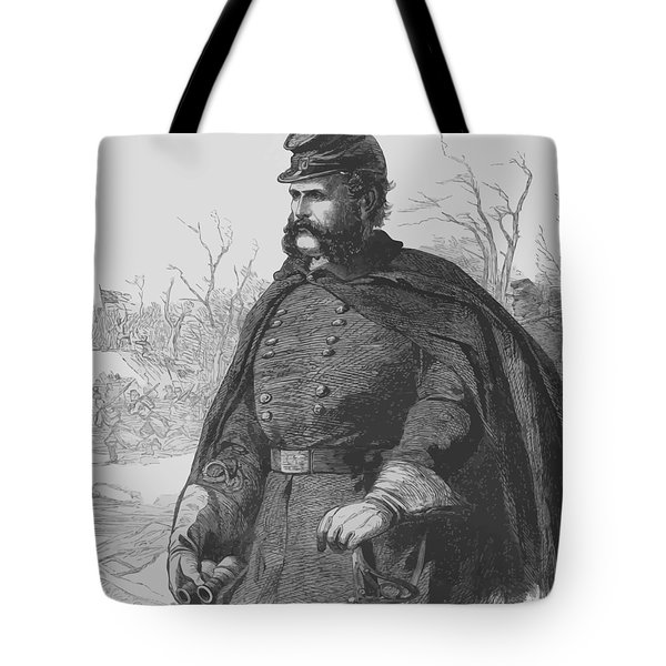 General Ambrose Burnside Tote Bag by War Is Hell Store