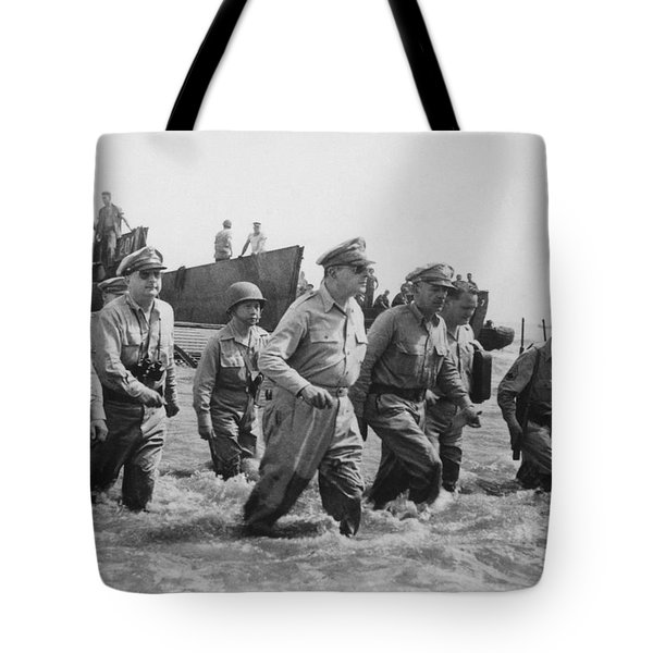 General Douglas MacArthur Returns Tote Bag by War Is Hell Store