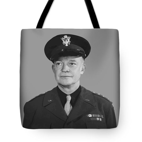 General Dwight D. Eisenhower Tote Bag by War Is Hell Store