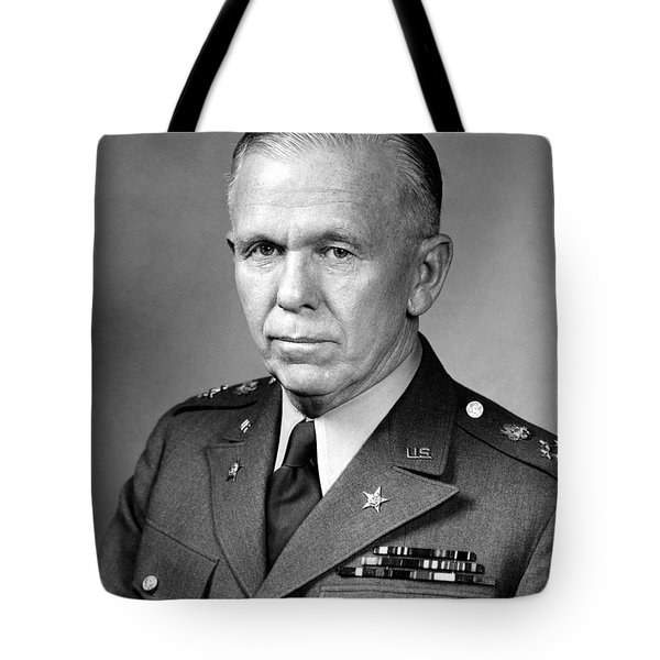 General George Marshall Tote Bag by War Is Hell Store