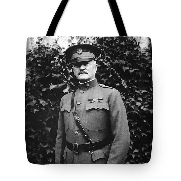 General John J. Pershing Tote Bag by War Is Hell Store