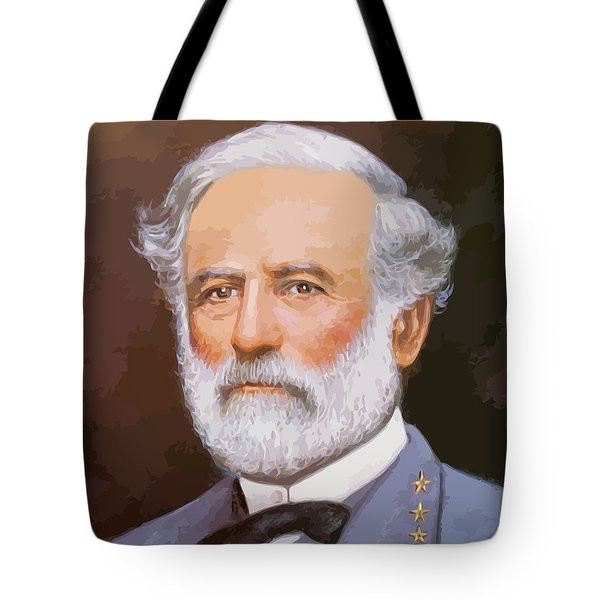 General Lee Tote Bag by War Is Hell Store