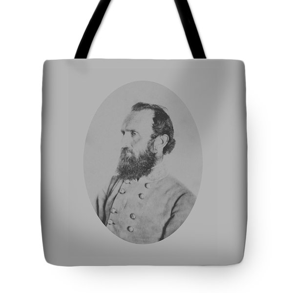 General Thomas Stonewall Jackson Tote Bag by War Is Hell Store
