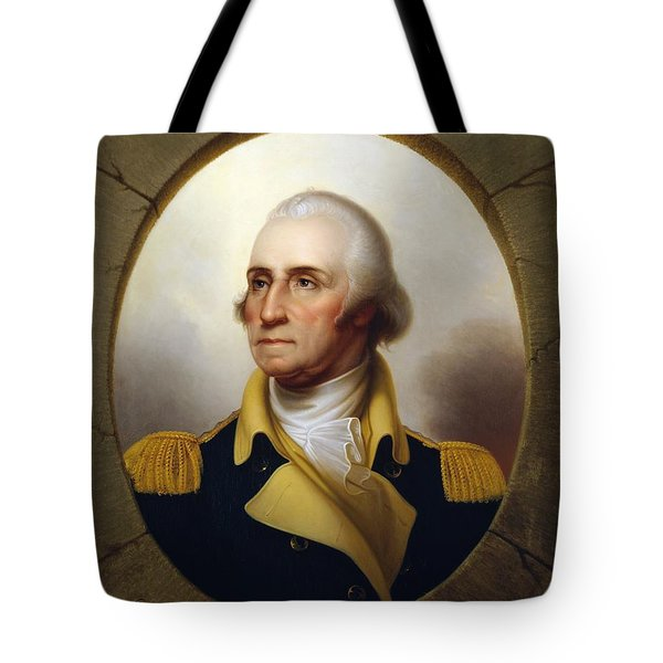 General Washington - Porthole Portrait  Tote Bag by War Is Hell Store