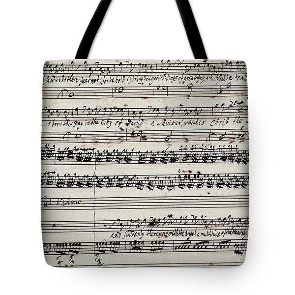 George Frederick Handel Tote Bag by Granger