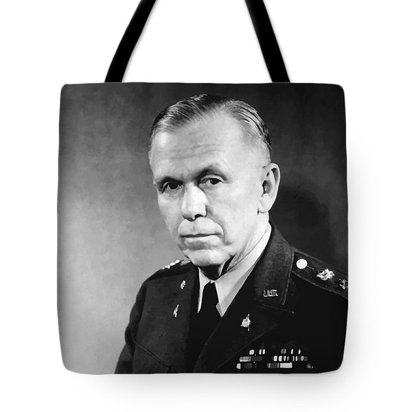 George Marshall Tote Bag by War Is Hell Store