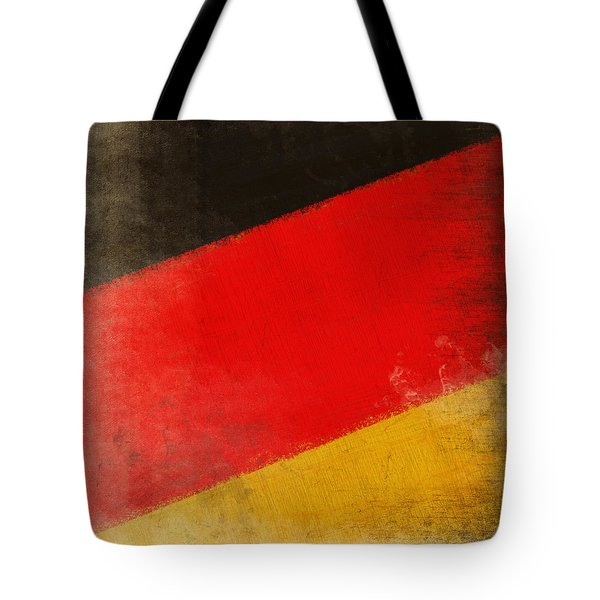 German flag Tote Bag by Setsiri Silapasuwanchai