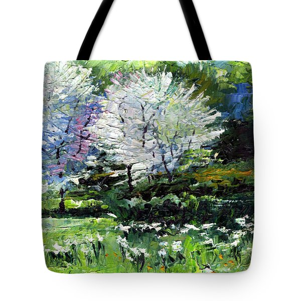 Germany Baden-baden Spring 2 Tote Bag by Yuriy  Shevchuk