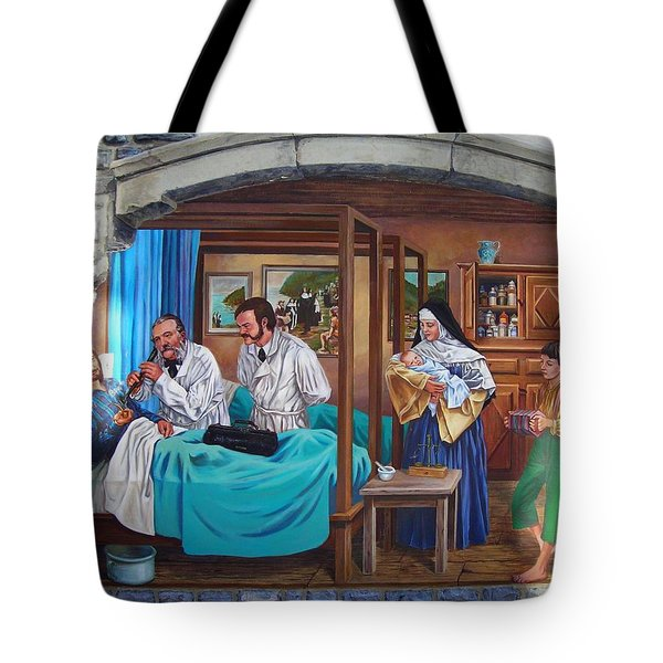 Get Well Soon ... Tote Bag by Juergen Weiss