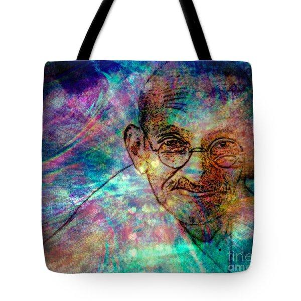 Ghandi Tote Bag by WBK
