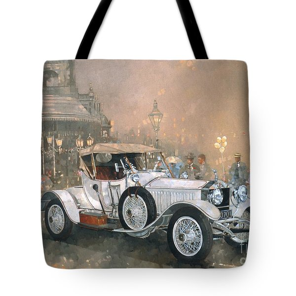 Ghost In Scarborough  Tote Bag by Peter Miller