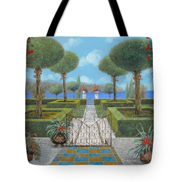 giardino italiano Tote Bag by Guido Borelli