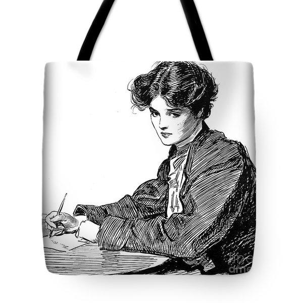 Gibson: Drawings, C1900 Tote Bag by Granger