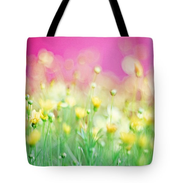 Giddy In Pink Tote Bag by Amy Tyler