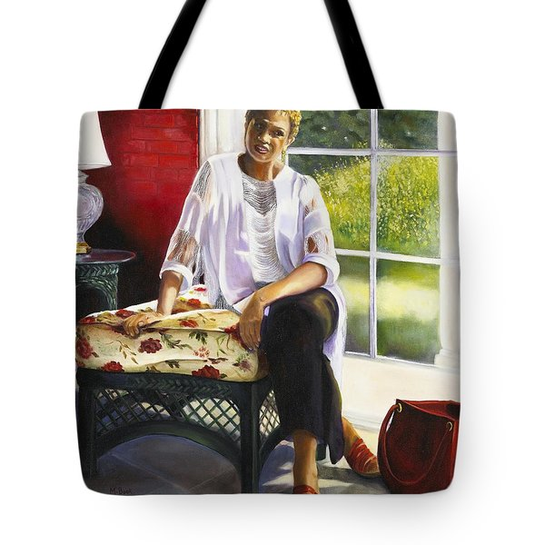 Girl Talk Tote Bag by Marlene Book