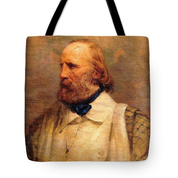 Giuseppe Garibaldi Tote Bag by Pg Reproductions