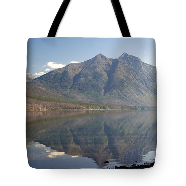 Glacier Reflection1 Tote Bag by Marty Koch