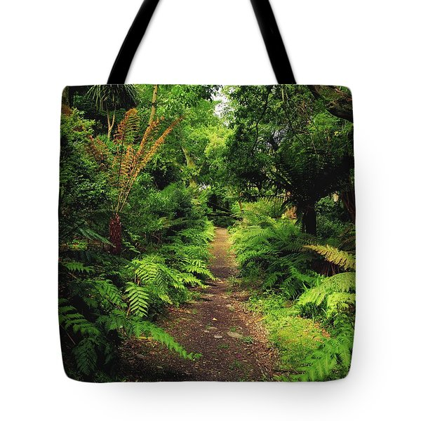 Glanleam, Co Kerry, Ireland Pathway Tote Bag by The Irish Image Collection