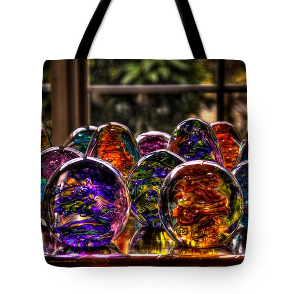 Glass Symphony Tote Bag by David Patterson