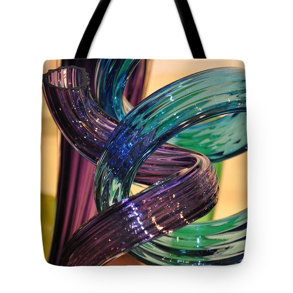 Glassworks 2 Tote Bag by Marty Koch