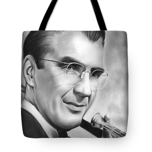 Glenn Miller Tote Bag by Greg Joens
