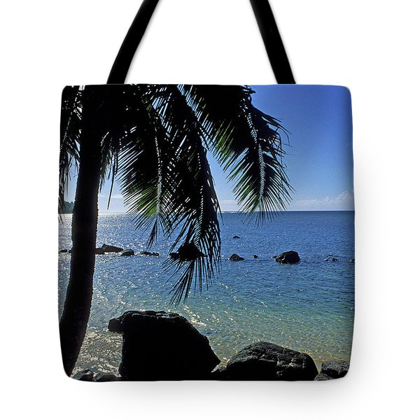Glistening Anini Beach Tote Bag by Kathy Yates