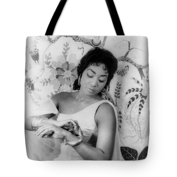 Gloria Davy (1931- ) Tote Bag by Granger