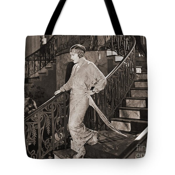 Gloria Swanson (1897-1983) Tote Bag by Granger