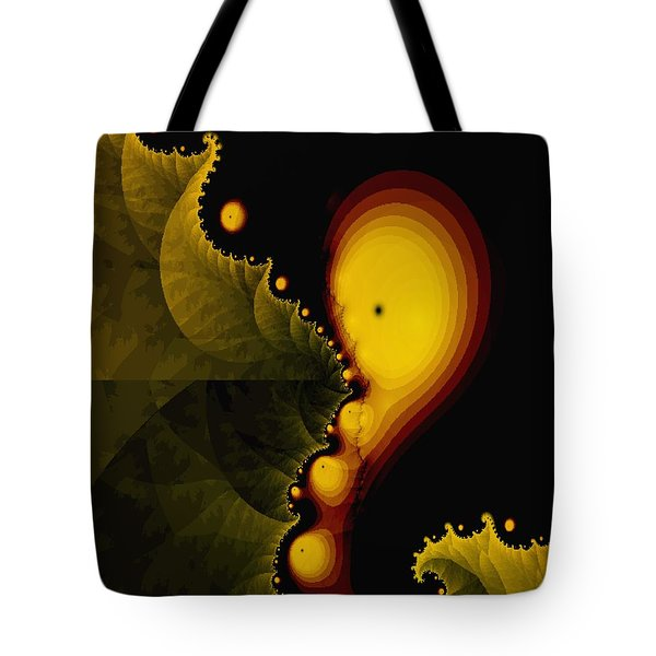 Glow Worm Tote Bag by Gina Lee Manley