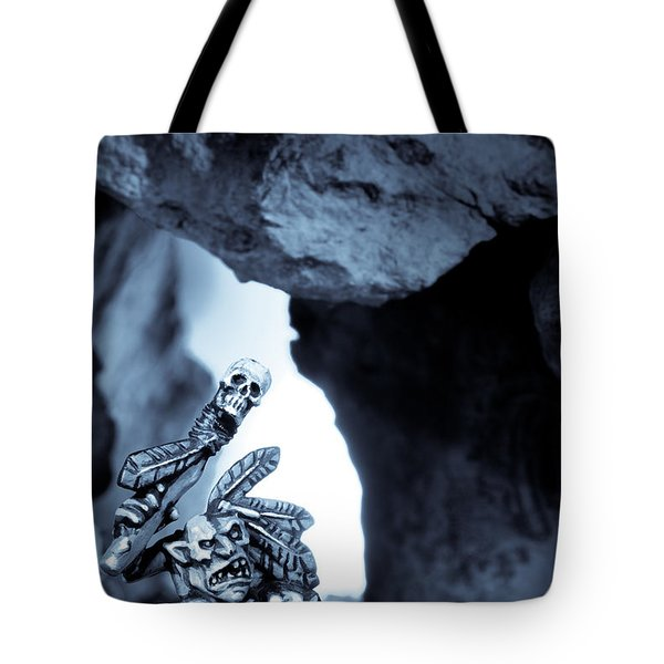 Goblin Shaman Tote Bag by Marc Garrido