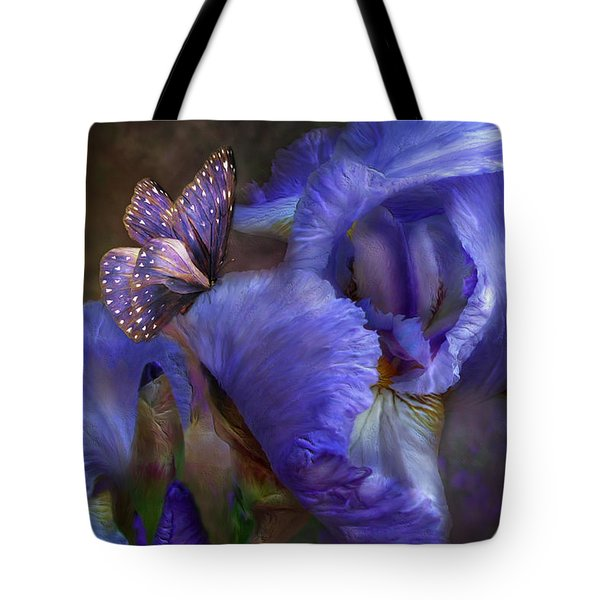 Goddess Of Mystery Tote Bag by Carol Cavalaris