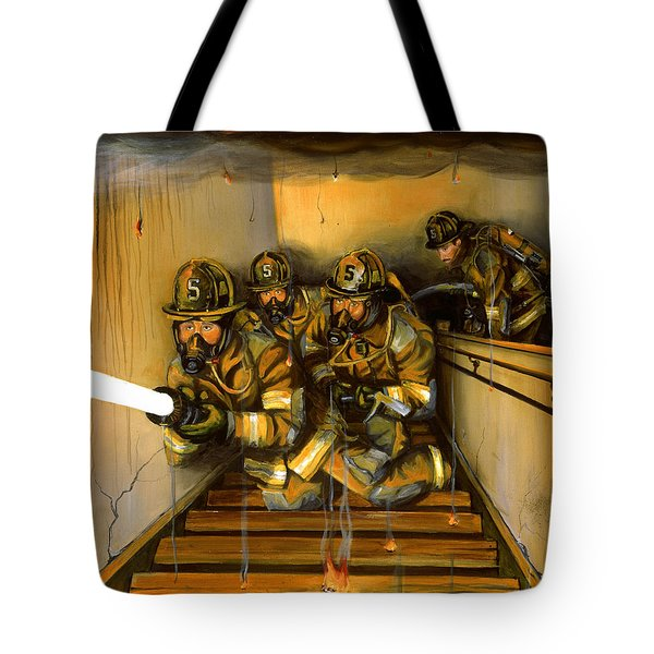 Goin' To Work Tote Bag by Paul Walsh