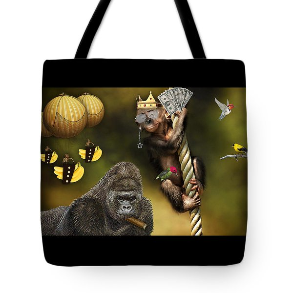 Going Bananas Tote Bag by Marvin Blaine