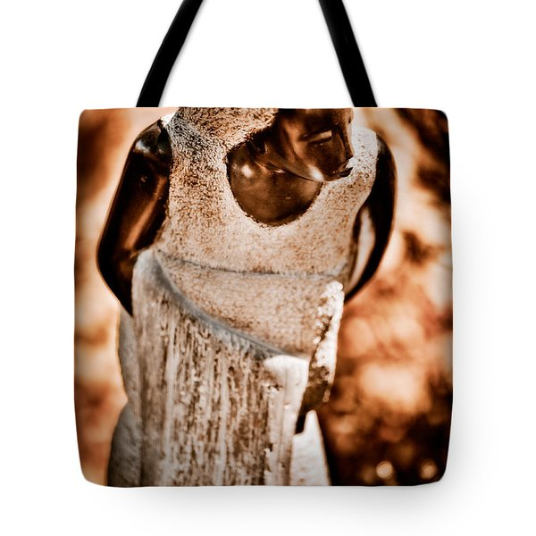 Going To Bathe My Baby Tote Bag by Venetta Archer