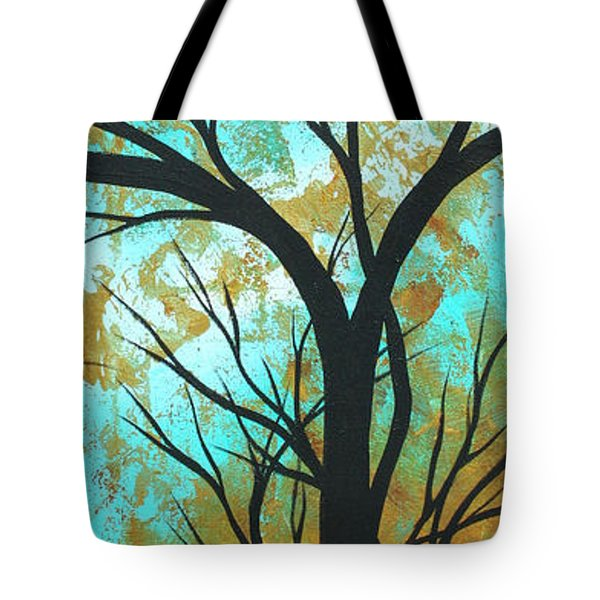 Golden Fascination 4 Tote Bag by Megan Duncanson