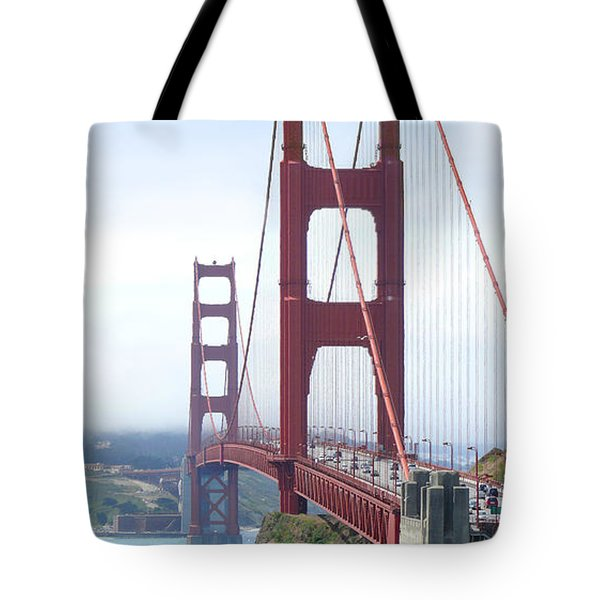 Golden Gate Bridge Tote Bag by Mike McGlothlen