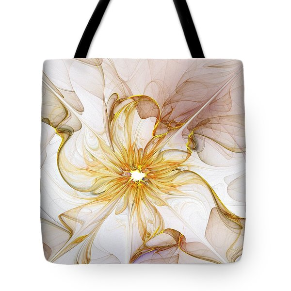 Golden Glow Tote Bag by Amanda Moore