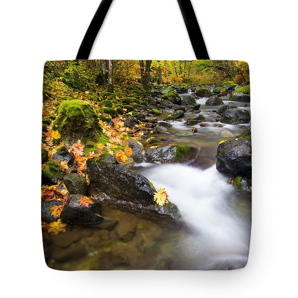 Golden Grove Tote Bag by Mike  Dawson