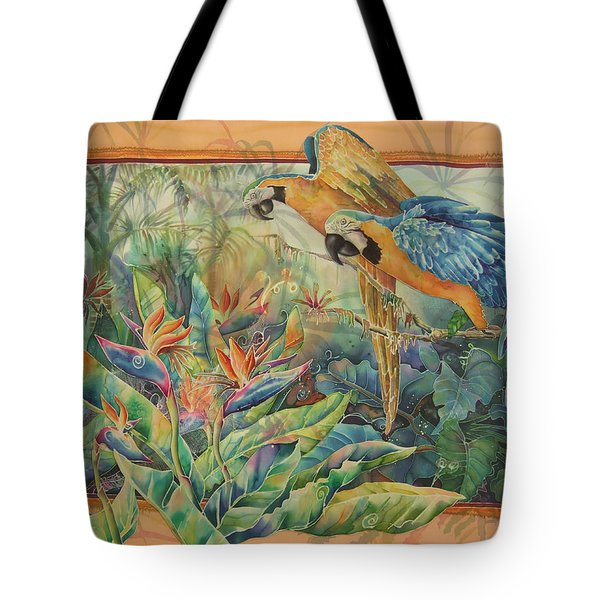 Golden Paradise Tote Bag by Deborah Younglao