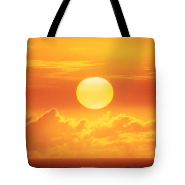 Golden Sunball Tote Bag by Bob Abraham - Printscapes