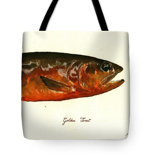Golden Trout  Tote Bag by Juan  Bosco