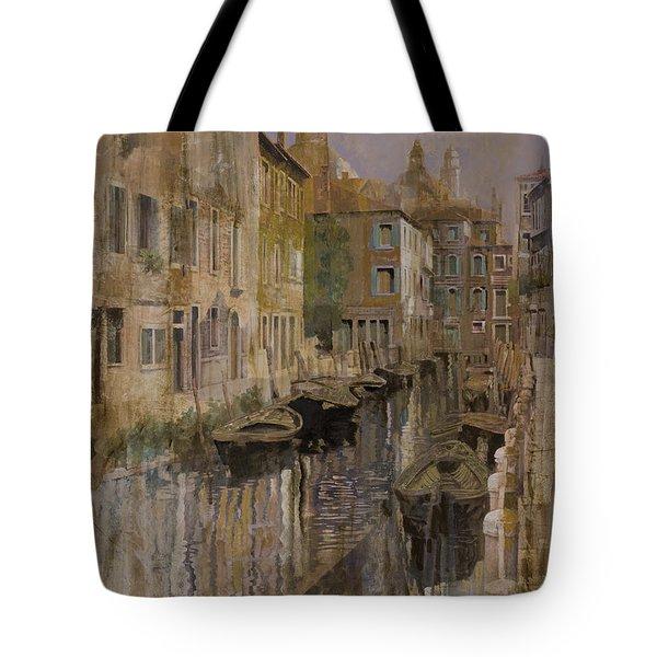 Golden Venice Tote Bag by Guido Borelli