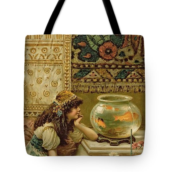 Goldfish Tote Bag by William Stephen Coleman