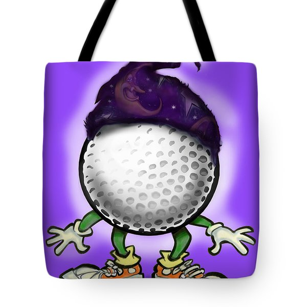 Golf Wizard Tote Bag by Kevin Middleton