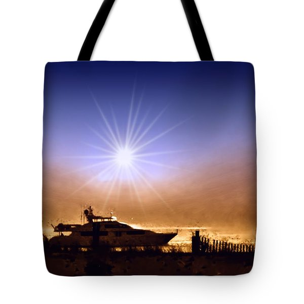 Gone Fishin Tote Bag by Bill Cannon