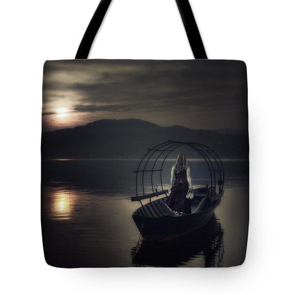 Gone Fishing Tote Bag by Joana Kruse