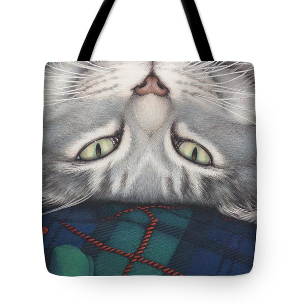 Goobie - A Boy And His Toy Tote Bag by Amy S Turner