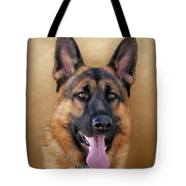 Good Boy Tote Bag by Sandy Keeton