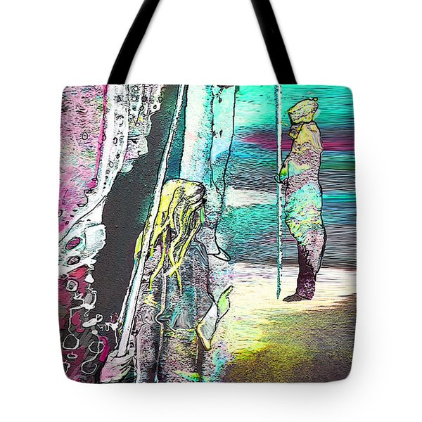 Good Lord Show Me The Way Tote Bag by Miki De Goodaboom