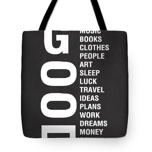 Good Things Tote Bag by Linda Woods